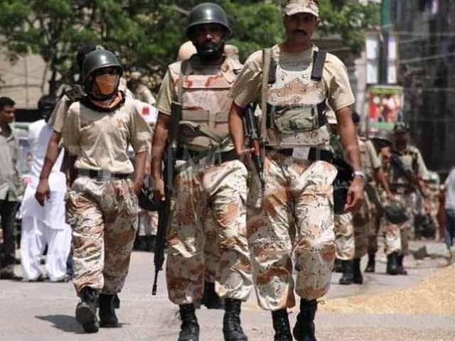 گرفتار 2 ملزمان کا تعلق جئے سندھ قومی محاذ سے ہے۔ ترجمان رینجرز، فوٹو؛ فائل