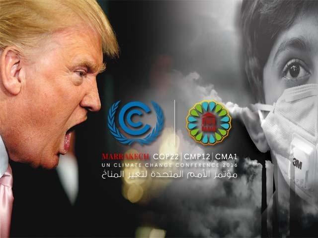 اس رویے کے عالمی اثرات توقع سے زیادہ جلد دکھائی دینا شروع ہوچکے ہیں۔ فوٹو : فائل