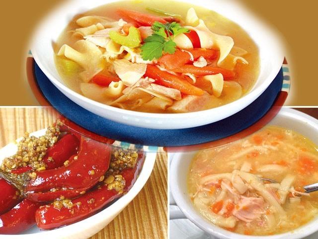 اب خود بنائیں گاجر کا سوپ اور بوہری فرائیڈ فش اور دیگر ڈشز۔ فوٹو: فائل