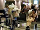 50 سالہ خاتون مالی مشکلات کی وجہ سے 2008 سے چانگی ایئرپورٹ پر رہ رہی تھیں۔ فوٹو: بشکریہ لیانے وانباؤ اخبار
