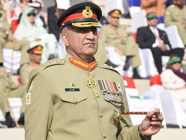 آرمی چیف جنرل جاوید قمر باجوہ   نے کابل اور قندھار میں دہشت گرد حملوں کی شدید مذمت کی۔ فوٹو : فائل