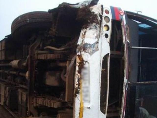 حادثے میں جاں بحق ہونے والوں کا تعلق فارورڈ کہوٹہ سے ہے. فوٹو: فائل