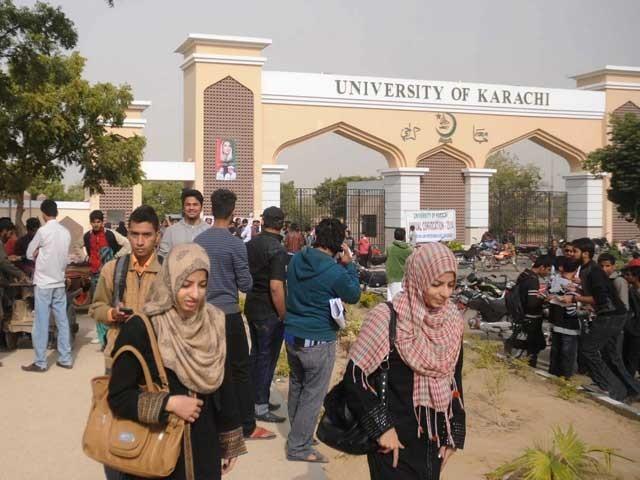 رینجرز نے اسسٹنٹ رجسڑار عارف حیدر کو حراست میں لے کر نامعلوم مقام پر منتقل کردیا ہے، انتظامیہ جامعہ کراچی۔ فوٹو: فائل