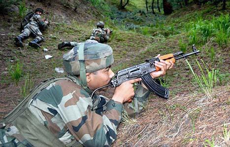 24 گھنٹے میں بھارتی فوج  نے سیز فائر کی 5 خلاف ورزیاں کیں، آئی ایس پی آر۔ فوٹو؛ فائل