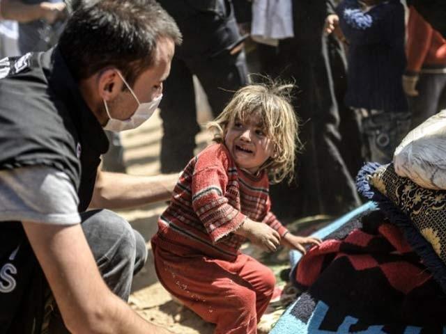 یونیسف کے مطابق گزشتہ برس شام میں 652 بچے ہلاک اور 647 شدید زخمی ہوئے جو تشویش ناک امرہے فوٹو: بشکریہ یونیسیف