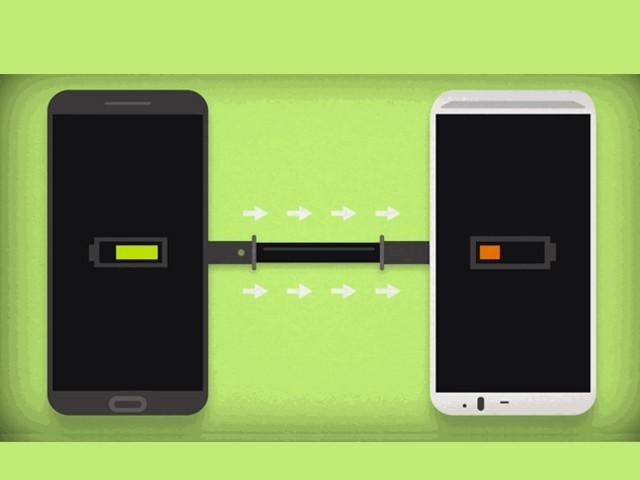 جاپانی کمپنی نے پاور یوزنگ سسٹم اسمارٹ فون میں متعارف کرایا ہے جو بالکل وائی فائی ہاٹ اسپاٹ کی طرح کام کرتا ہے۔ فوٹو: فائل