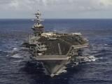 فوجی طاقت دکھانےکے لئےامریکی طیارہ بردار بحری بیڑے کو سمندر میں غرق کرنے کے لئے تیار ہیں،شمالی کوریا: فوٹو : الجریزہ