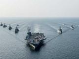 امریکا کا بحری بیڑہ فلپائن کی بندرگاہ پر لنگر انداز، فضائیہ نے بلیسٹک میزائل کا تجربہ بھی کیا۔ فوٹو: فائل