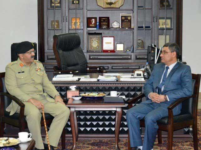 پاک فوج کے اعلیٰ سطح کے وفد نے افغانستان کا دورہ کیا اور افغان سول و عسکری حکام سے ملاقاتیں کیں، آئی ایس پی آر، فوٹو؛ آئی ایس پی آر