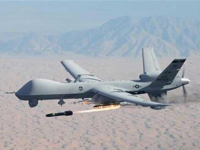 شمالی وزیرستان کے علاقے لوارا منڈی میں امریکی ڈرون نے ایک گھر کو نشانہ بنایا۔ فوٹو:فائل