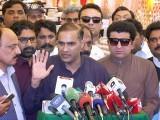چلینج ہے تحریک انصاف کے پی کے میں ایک میگا واٹ بھی بجلی پیدا نہیں کر سکے گی، عابد شیر علی۔ فوٹو: اے پی پی