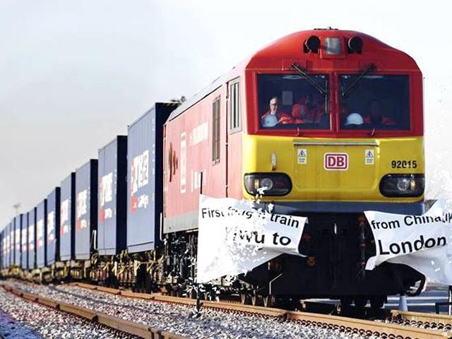 اب یہ دنیا کا دوسرابڑا طویل ترین ریل روٹ بن گیا ہے۔ فوٹو: نیٹ