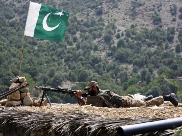 دہشت گردوں نے 2 چوکیوں کو نشانہ بنایا، پاک فوج کی بھرپورکارروائی میں 3 دہشتگرد ہلاک، آئی ایس پی آر، فوٹو؛ فائل