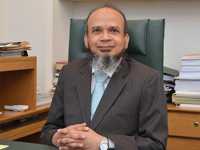 نومنتخب گورنرریاض الدین ریاض اسٹیٹ بینک میں ڈپٹی گورنر کے عہدے پر فائزتھے۔ فوٹو؛ نیٹ