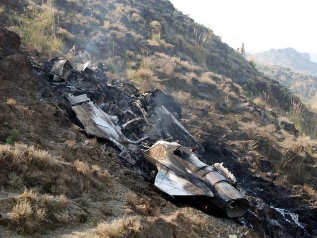 طیارہ معمول کی تربیتی پرواز کے دوران گرکر تباہ ہوا، ترجمان پی اے ایف۔ فوٹو فائل