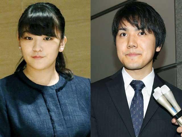 شہزادی ماکو ایک عام جاپانی شہری 'کی کومورو' سے شادی کرنا چاہتی ہیں جس کےلیے انہیں اپنی شاہی حیثیت سے دستبردار ہونا پڑے گا۔ (فوٹو: فائل)
