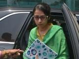 بھارتی وزیرخارجہ سشما سوراج کی جانب سے عظمیٰ کو واپسی پر خوش آمدید کہا گیا ہے: فوٹو: اے ایف پی