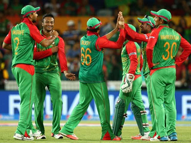 نئی رینکنگ میں پاکستان، سری لنکا اورویسٹ انڈیز بنگلہ دیش سے پیچھے ہیں۔ فوٹو : فائل