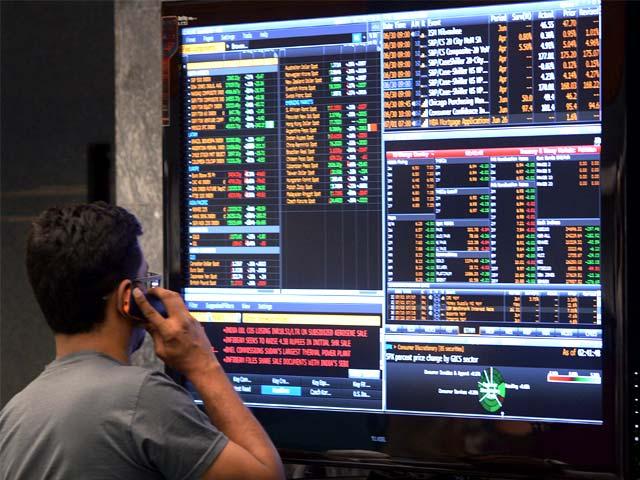 مثبت تبدیلی پرغیرملکی سرمایہ کاروں نے پاکستانی اسٹاک ایکسچینج کارخ کرلیا۔ فوٹو: اے ایف پی/فائل