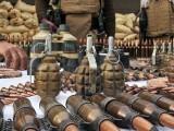 اسلحہ و بارود  آرجن نالا اور درینجن نالا میں واقع کالعدم تنظیم کے ٹھکانوں سے برآمد ہوا، آئی ایس پی آر: فوٹو : فائل