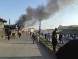 شدید زخمیوں کی پشاور منتقلی کے انتظامات کیے جارہے ہیں۔ فوٹو: اسکرین گریپ