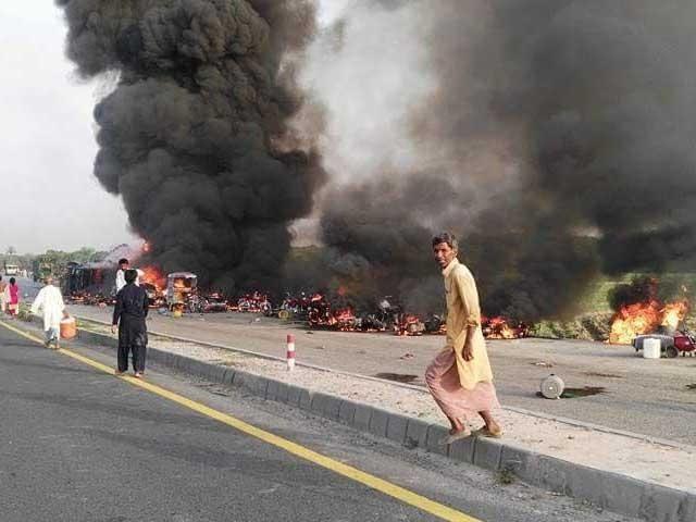 حادثے میں 200 سے زائد افراد زخمی بھی ہوئے جن میں سے متعدد کی حالت تشویشناک ہے۔ فوٹو: سوشل میڈیا