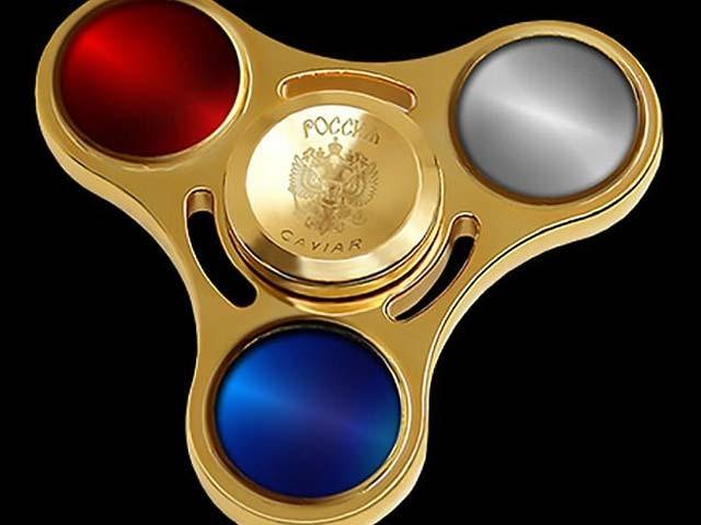 کیویئرکی جانب سے تیارکردہ اسپنر جس کی قیمت 17 لاکھ روپےہے۔ فوٹو: بشکریہ کیویئر کمپنی