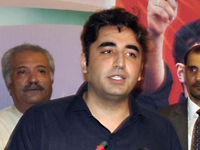 جمہوریت کے استحکام کیلئے نواز شریف فوری اپنے عہدے سے دستبردار ہوں، چئیرمین پیپلزپارٹی،فوٹو: ظفر اسلم / ایکسپریس