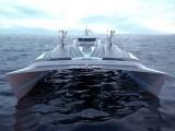 یہ کشتی سمندر کے نمکین پانی سے اپنے لیے ہائیڈروجن اور آکسیجن پر مشتمل صاف ستھرا ایندھن تیار کرسکتی ہے۔ (فوٹو: انرجی آبزرور)