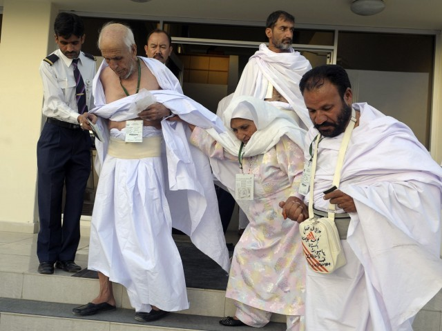 عازمین حج 8331 پر میسج کرکے مطلوبہ معلومات حاصل کرسکتے ہیں، ترجمان وزارت مذہبی امور- فوٹو: فائل