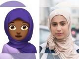 ایپل نے اعلان کیا ہے کہ باحجاب خاتون کی نمائندگی کے لیے نیا ایموجی رواں سال کے آخر تک دستیاب ہوگا — فوٹو : سی این این
