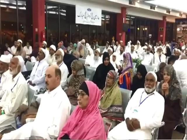 حجاج کرام پاکستان اور قوم کے لئے خصوصی دعائیں کریں، وفاقی وزیر مذہبی امور۔ فوٹو: ایکسپریس نیوز