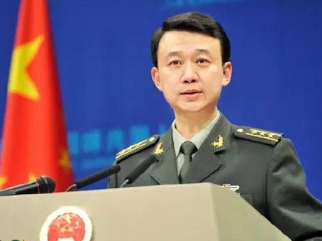 ملکی سلامتی کی حفاظت میں چین کا عزم غیر متزلزل ہے، ترجمان پیپلز لبریشن آرمی۔ فوٹو: فائل