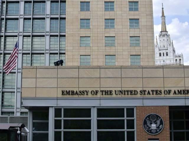 روس نے ماسکو میں واقع ایسی دو عمارتیں بھی قبضے میں لے لی ہیں جو امریکی سرکاری عہدیداروں کے زیر استعمال  تھیں،فوٹو:فائل