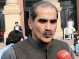عمران خان بغلیں نہ بجائیں کیونکہ کچھ دن بعد آپ بغلیں جھانکیں گے، سعد رفیق۔ فوٹو: فائل