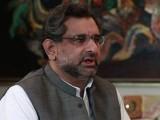 وزیراعظم بنانے کا فیصلہ پارٹی لیڈرشپ کا ہے جسے سب نے قبول کیا، شاہد خاقان عباسی- فوٹو: فائل