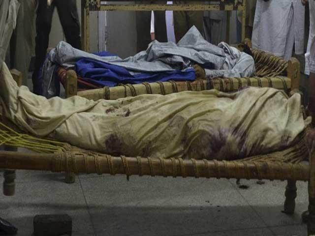 گھر میں جنریٹر کے دھماکے سے خواتین سمیت 5 افراد زخمی ہو گئے تھے۔ فوٹو: فائل