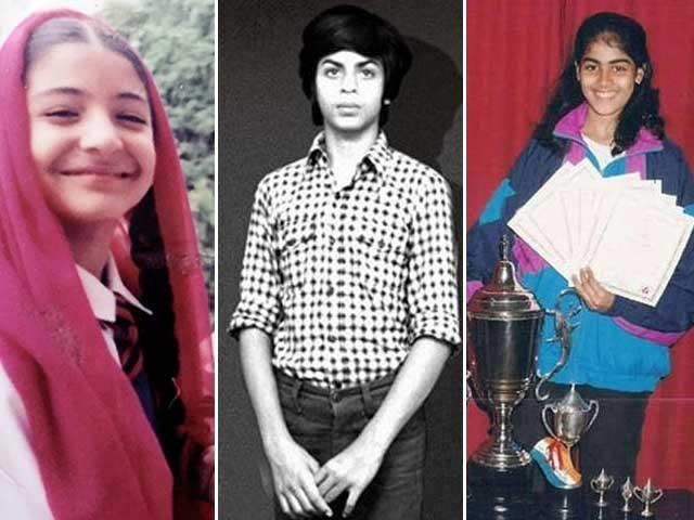 شاہ رخ خان اسکول کے زمانے میں پڑھائی کے ساتھ مختلف سرگرمیوں میں بھی حصہ لیتے تھے؛فوٹوفائل