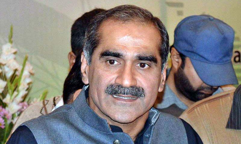 لوگ اپنے قائد کی ایک جھلک دیکھنے کے لیے بیتاب ہیں، سعد رفیق: فوٹو: فائل