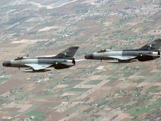منگل اور بدھ کی درمیانی شب F-7 کو معمول کی پرواز کے دوران حادثہ پیش آیا