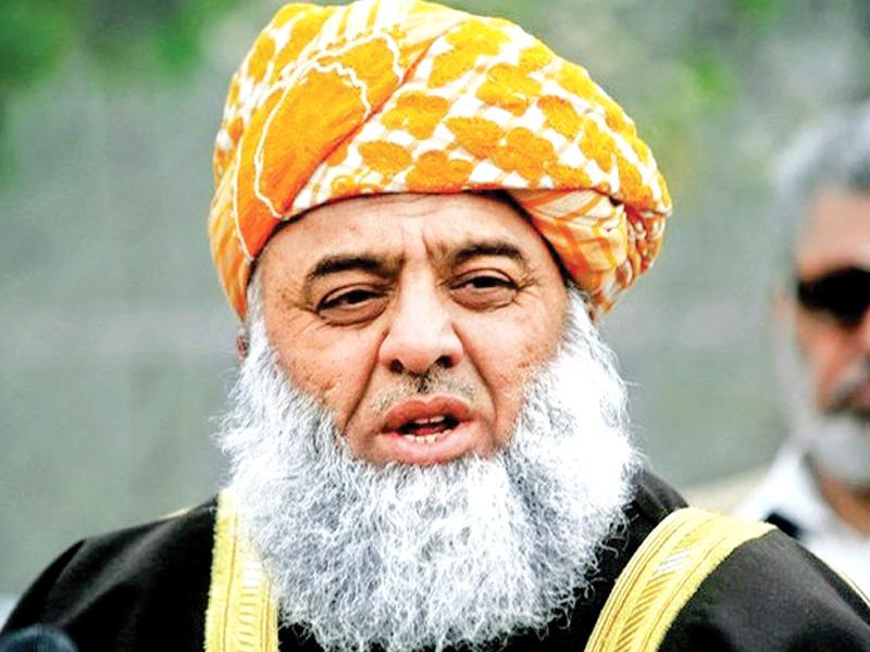 ہمارا کام قانون کے غلط استعمال کا روکنا ہے نہ کہ قوانین کو ختم کرنا، مولانا فضل الرحمان۔ فوٹو: فائل