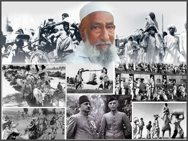 فیروز پور سے پاکستان آنے والے بزرگ باغ علی ماضی کی یادیں تازہ کرتے ہیں۔ فوٹو : فائل