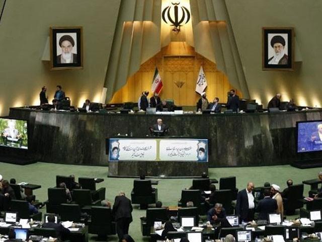 امریکا کو علم ہونا چاہئے کہ اس کی جانب سے عائد کی پابندیوں پر ایران کا یہ پہلا ردعمل ہے، اسپیکر ایرانی پارلیمنٹ : فوٹو : فائل