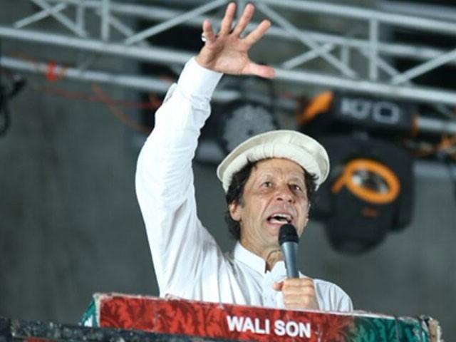 شیخ رشید کو خراج تحسین پیش کرتا ہوں کیوں کہ وہ 9 سال سے جہاد کررہے ہیں، عمران خان — فوٹو : سوشل میڈیا