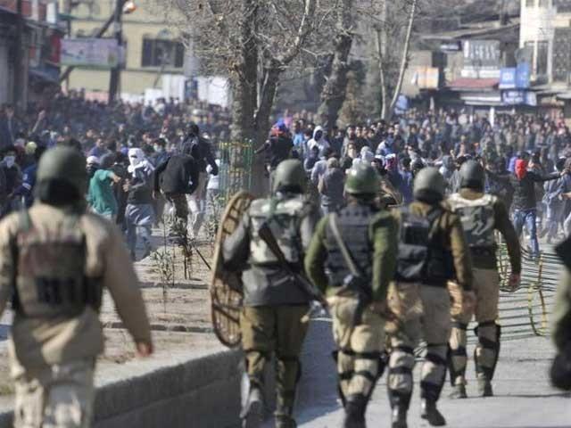 پاکستان پہلے بھی کشمیریوں کے حق میں دنیا کے ہر فورم پر صدائے احتجاج بلند کرتا رہا ہے ۔ (فوٹو: فائل)