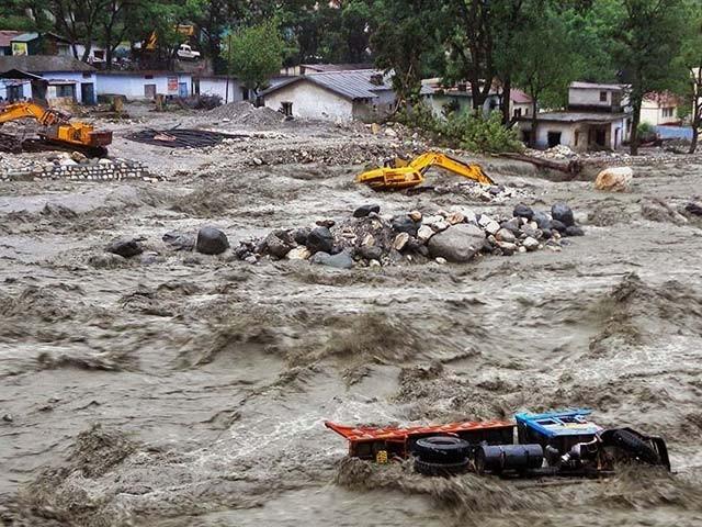 نیپال کے 13اضلاع شدید متاثرہیں، بنگلہ دیش کے 18 بڑے دریاؤں میں طغیانی  فوٹو؛ فائل