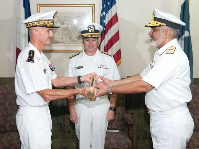 پا ک بحریہ کےعزم کے باعث پاک بحریہ اور اتحادی بحری افواج کے مابین تعلقات مسلسل مضبوط ہورہے ہیں۔ ترجمان ۔  فوٹو: پاک بحریہ