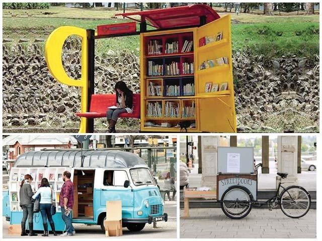عام لوگوں اور بچوں کے لیے کتب بینی کا کام آسان ہوگیا۔ فوٹو : فائل