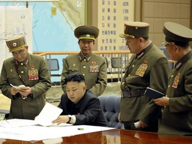 جب چاہیں امریکا پر حملہ کرسکتے ہیں اور اس حملے سے امریکا کا کوئی علاقہ نہیں بچ سکے گا، شمالی کوریا کا دعویٰ- فوٹو : فائل