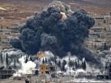 فضائی حملہ الرقہ میں داعش کے زیر اثر علاقے میں کیا گیا۔ فوٹو : فائل